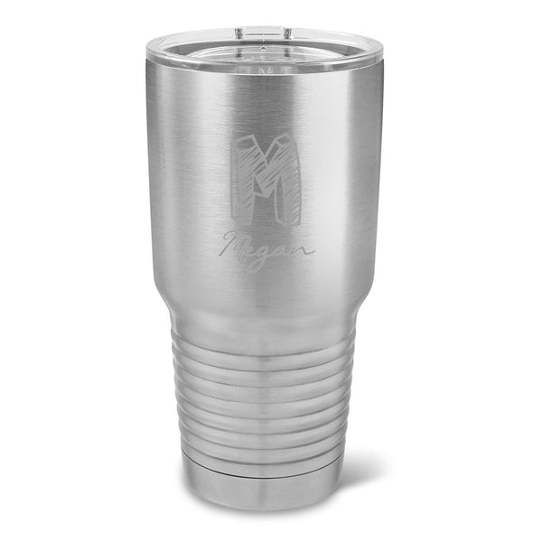 Personalized Húsavík 30 oz. Stainless Steel Double Wall Insulated Tumbler - All - Kate - JDS