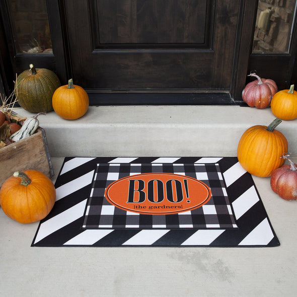 Personalized Layered Halloween Doormat Sets -  - Qualtry