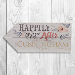 Personalized Wooden Arrow Signs - Happilyeverafter - Home Decor - AGiftPersonalized