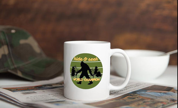 Personalized Big Foot Mug Collection -  - Qualtry