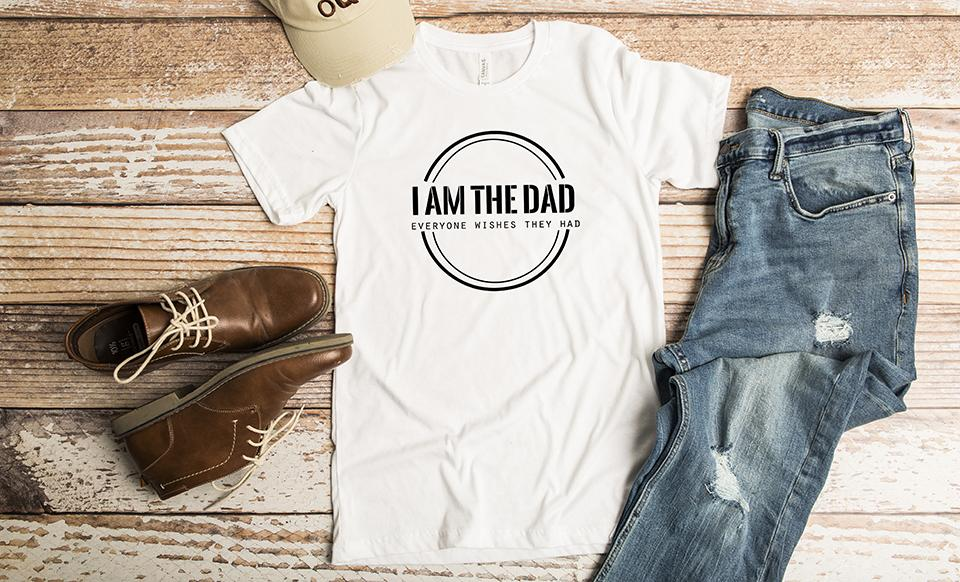 Personalized T-Shirts for Dad and Grandpa