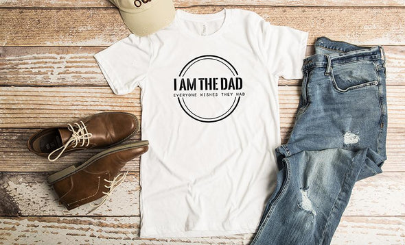 Personalized T-Shirts for Dad and Grandpa - White / XS - Qualtry
