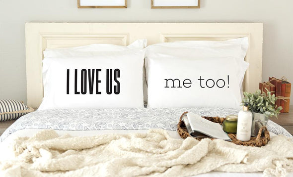 Romantic Pillowcases for Couples -  - Qualtry