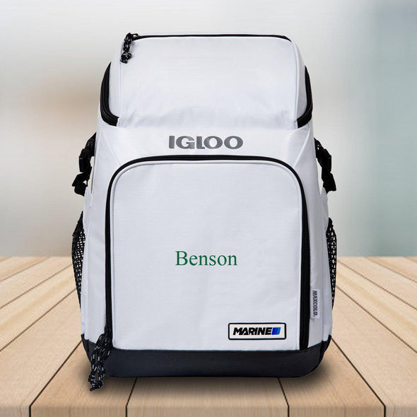 Personalized Igloo Cooler Backpack -  - JDS