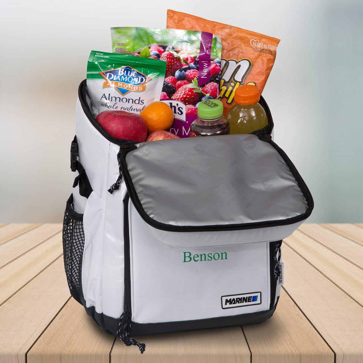 12oz. Personalized Igloo Cooler Backpack