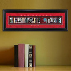 Personalized University Architectural Art - College Art - IllinoisST