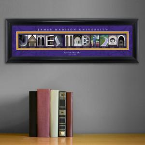 Personalized University Architectural Art - College Art - JamesMadison - JDS
