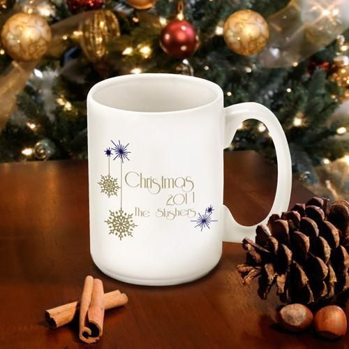 Christmas Coffee Mugs.Personalized Christmas Coffee Mugs