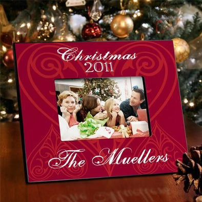 Personalized Christmas Picture Frame - All - ChristmasLove - JDS