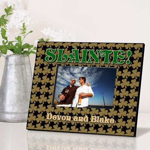 Personalized Irish Themed Picture Frame - FieldOfClover - JDS