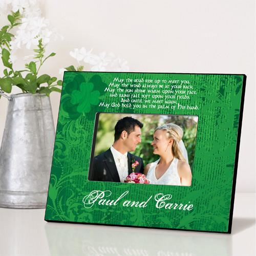 Personalized Irish Themed Picture Frame - IrishBlessing - JDS