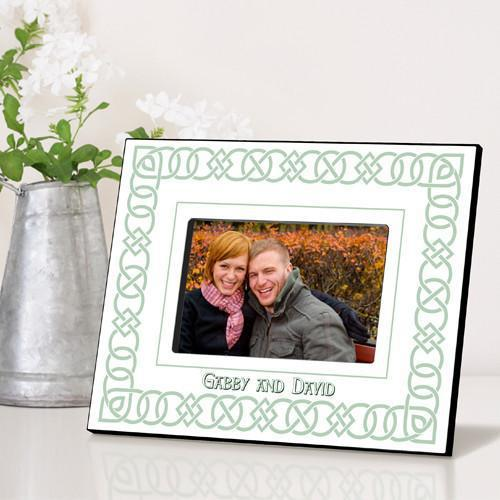 Personalized Irish Themed Picture Frame - IrishLinen - JDS