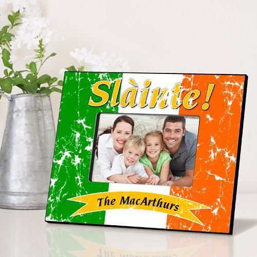 Personalized Irish Themed Picture Frame - PrideOfTheIrish - JDS