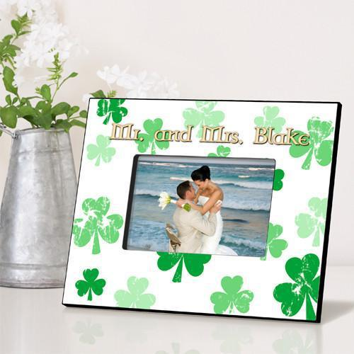 Personalized Irish Themed Picture Frame - RainingClovers - JDS