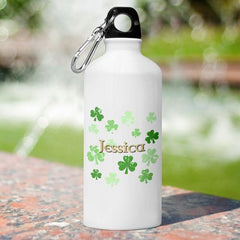 Personalized Irish Themed Water Bottle -