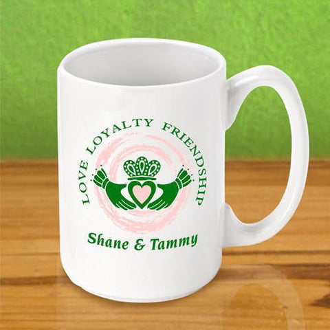 Personalized Irish Themed Coffee Mugs -  - Irish Gifts - AGiftPersonalized