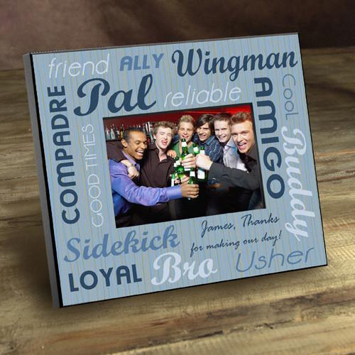 Personalized Best Buds Picture Frame