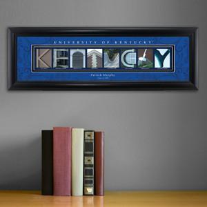 Personalized University Architectural Art - SEC College Art - Kentucky - JDS