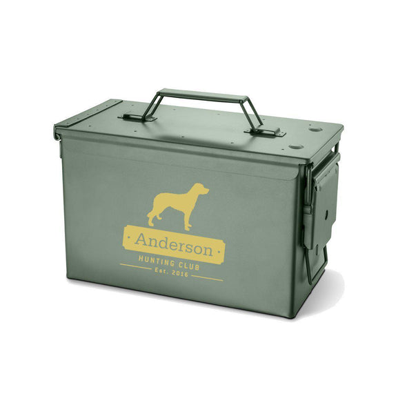 Personalized Metal Box - Multiple Designs - Labrador - JDS