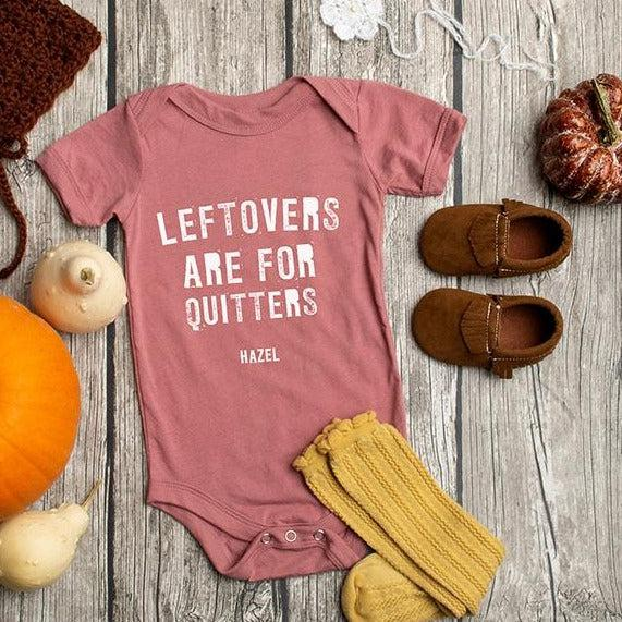 Personalized Thanksgiving Infant and Toddler One-Piece Collection - Mauve / 3-6 Month - Qualtry