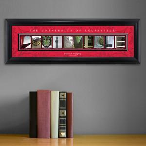 Personalized University Architectural Art - Big East College Art - Louisville - Personalized Wall Art - AGiftPersonalized