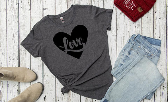 Personalized Love Themed Ladies T-Shirts -  - Qualtry