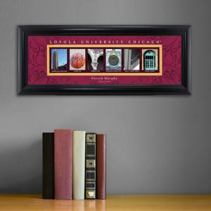 Personalized University Architectural Art - College Art - Loyola - JDS