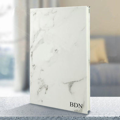 Personalized Writing Notebook - Marble -  - JDS