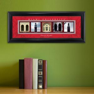 Personalized University Architectural Art - College Art - miamiofOhio - JDS