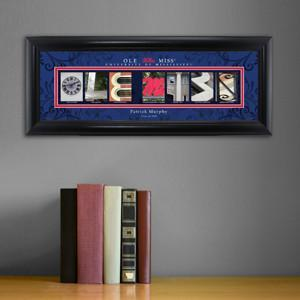 Personalized University Architectural Art - SEC College Art - Mississippi - JDS
