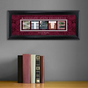 Personalized University Architectural Art - SEC College Art - MississippiST - JDS