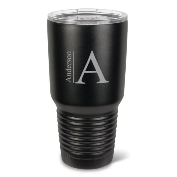 Personalized Húsavík 30 oz. Black Matte Double Wall Insulated Tumbler -  - JDS