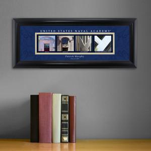 Personalized University Architectural Art - College Art - NavelAcademy - JDS