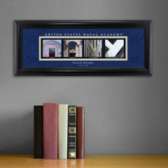 Personalized University Architectural Art - College Art - NavelAcademy