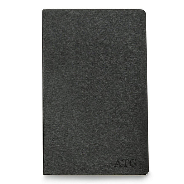 Personalized Moleskine® Notebook – Black - Blind - JDS