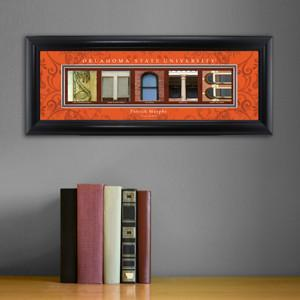 Personalized University Architectural Art - Big 12 Schools College Art - OklahomaST - JDS