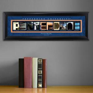 Personalized University Architectural Art - College Art - Pepperdine - JDS