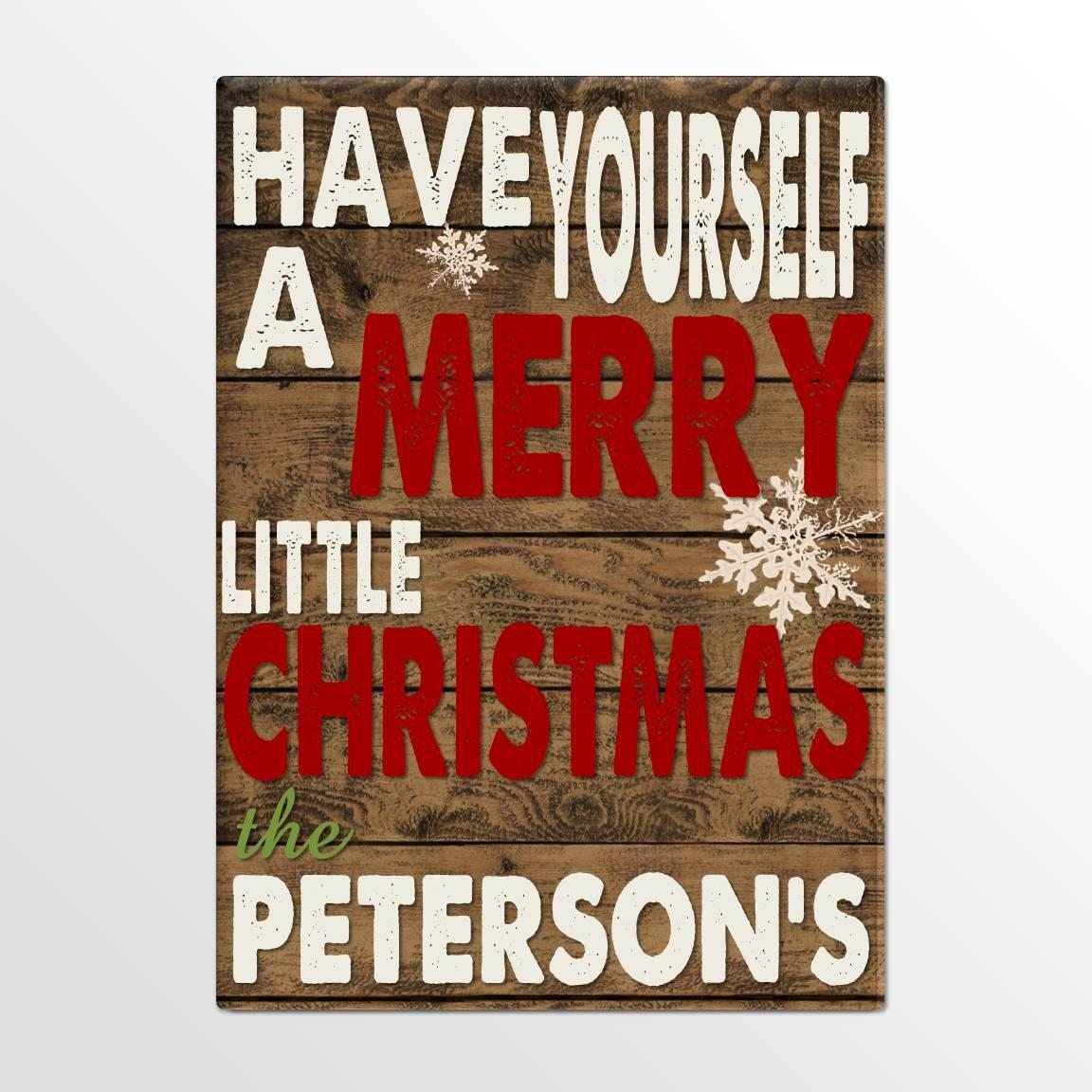 Personalized-Holiday-Canvas-Signs-Merry-Christmas