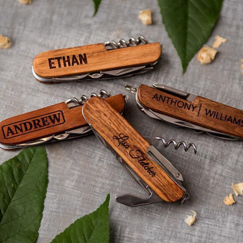 Personalized Multi-Tool Pocket Knives