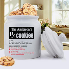 Personalized Ceramic Cookie Jar -  - Home Decor - AGiftPersonalized