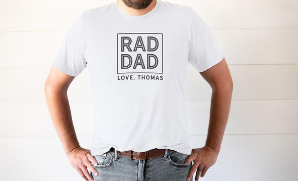 Personalized Best Dad Ever T-Shirt Collection - White / XS - Qualtry