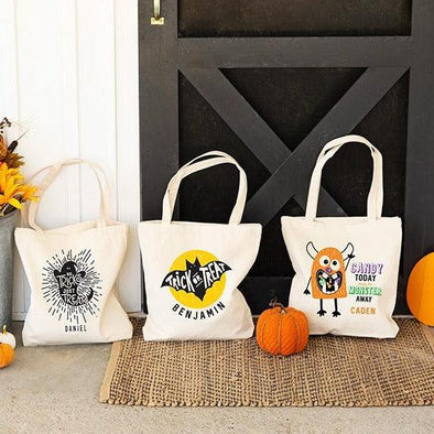 Personalized Halloween Tote Bags -  - Qualtry