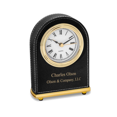 Personalized Round Desk Clock -  - JDS