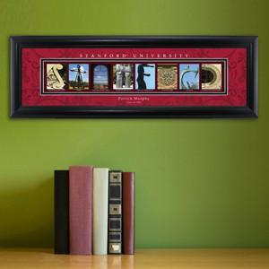 Personalized University Architectural Art - PAC 12 College Art - Stanford - JDS