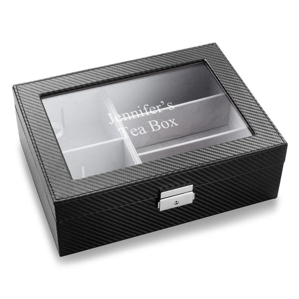 Personalized Tea Box -  - JDS