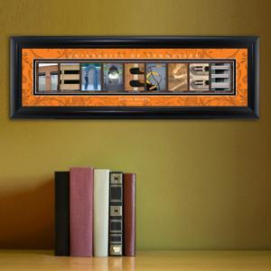 Personalized University Architectural Art - SEC College Art - Tennessee - JDS