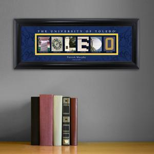Personalized University Architectural Art - College Art - Toledo - JDS