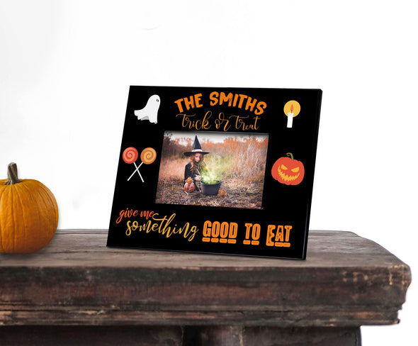 Personalized Trick or Treating Picture Frame - 5x7 -  - JDS
