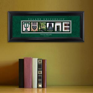 Personalized University Architectural Art - College Art - Tulane
