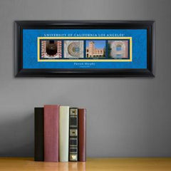 Personalized University Architectural Art - PAC 12 College Art - UCLA - Personalized Wall Art - AGiftPersonalized